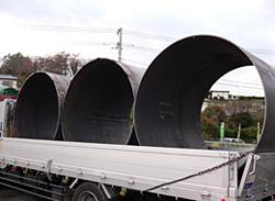 鋼管の運搬
